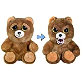 """Feisty Pets Sir Growls-A-Lot- Adorable Plush Stuffed Bear that Turns Feisty with a Squeeze, 8.5"""" L"""