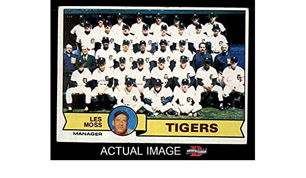 Amazoncom 1979 Topps 66 Tigers Team Checklist Less Moss
