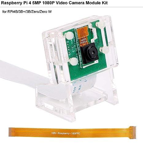 MakerHawk Cámara Raspberry-Pi 5 megapíxeles 1080p / 30fps Módulo ...