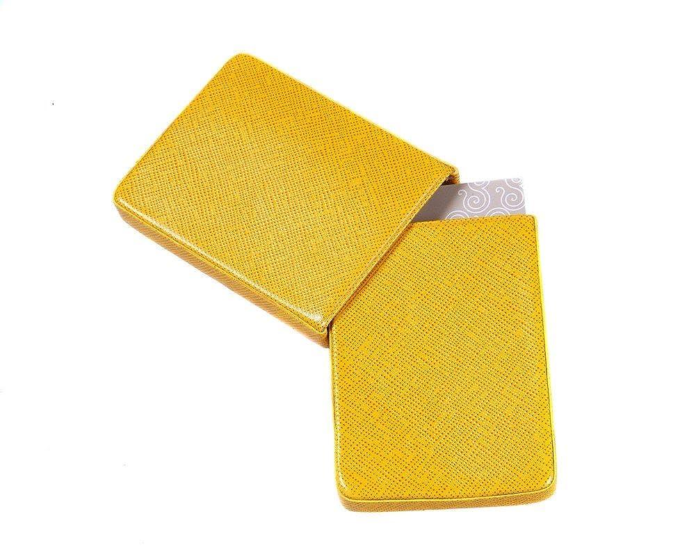 SAGEBROWN 2 Piece Business Card Holder