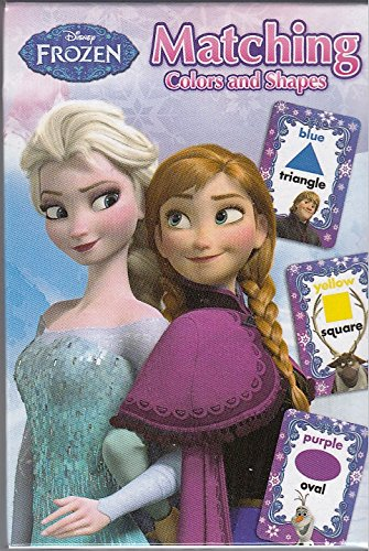 Disney Frozen Matching Colors and Shapes Card Game