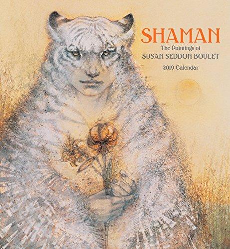 Shaman: Susan Seddon Boulet 2019 Wall Calendar
