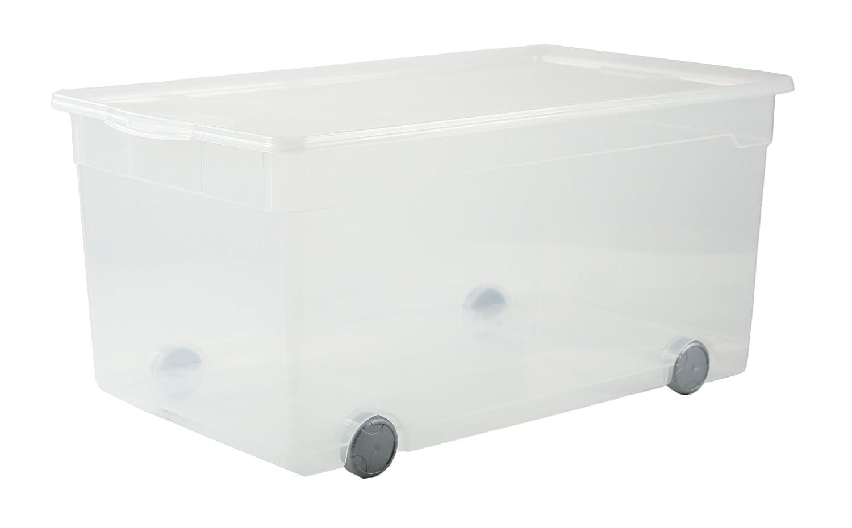 kunststoffbox mit deckel 50 l st77 kyushucon. Black Bedroom Furniture Sets. Home Design Ideas