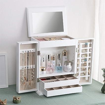 Organizador de maquillaje Maquillaje de madera Organizador de ...