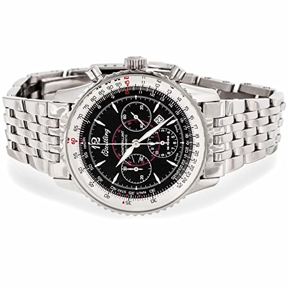 Breitling Montbrillant automatic-self-wind Mens Reloj a41330 (Certificado) de segunda mano: Breitling: Amazon.es: Relojes