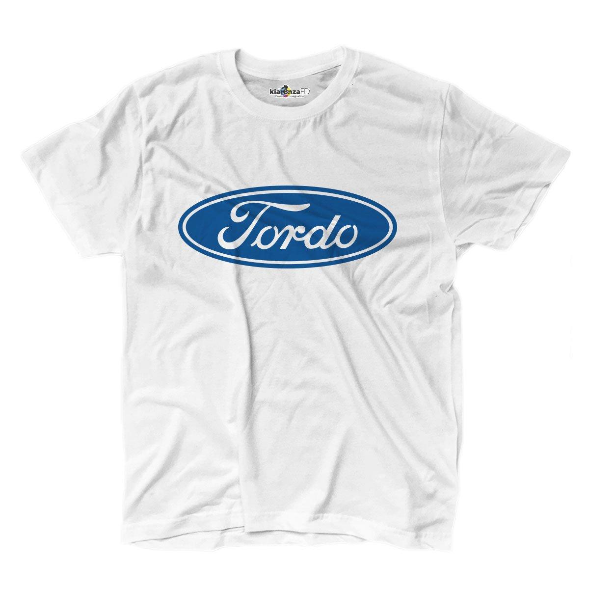KiarenzaFD Camiseta Camiseta Logo Parodia Ford Tordo cafeteras ...