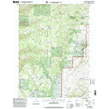 Curtis Ridge UT topo map, 1:24000 scale, 7.5 X 7.5 Minute, Historical, 1998, updated 2001, 26.7 x 21.9 IN
