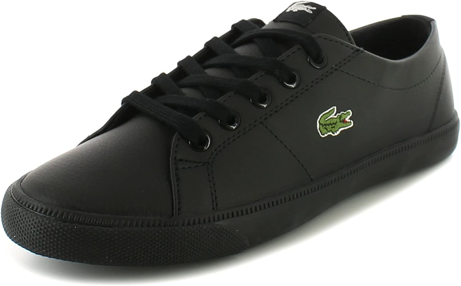 Black Marcel Lace Fastening Trainers