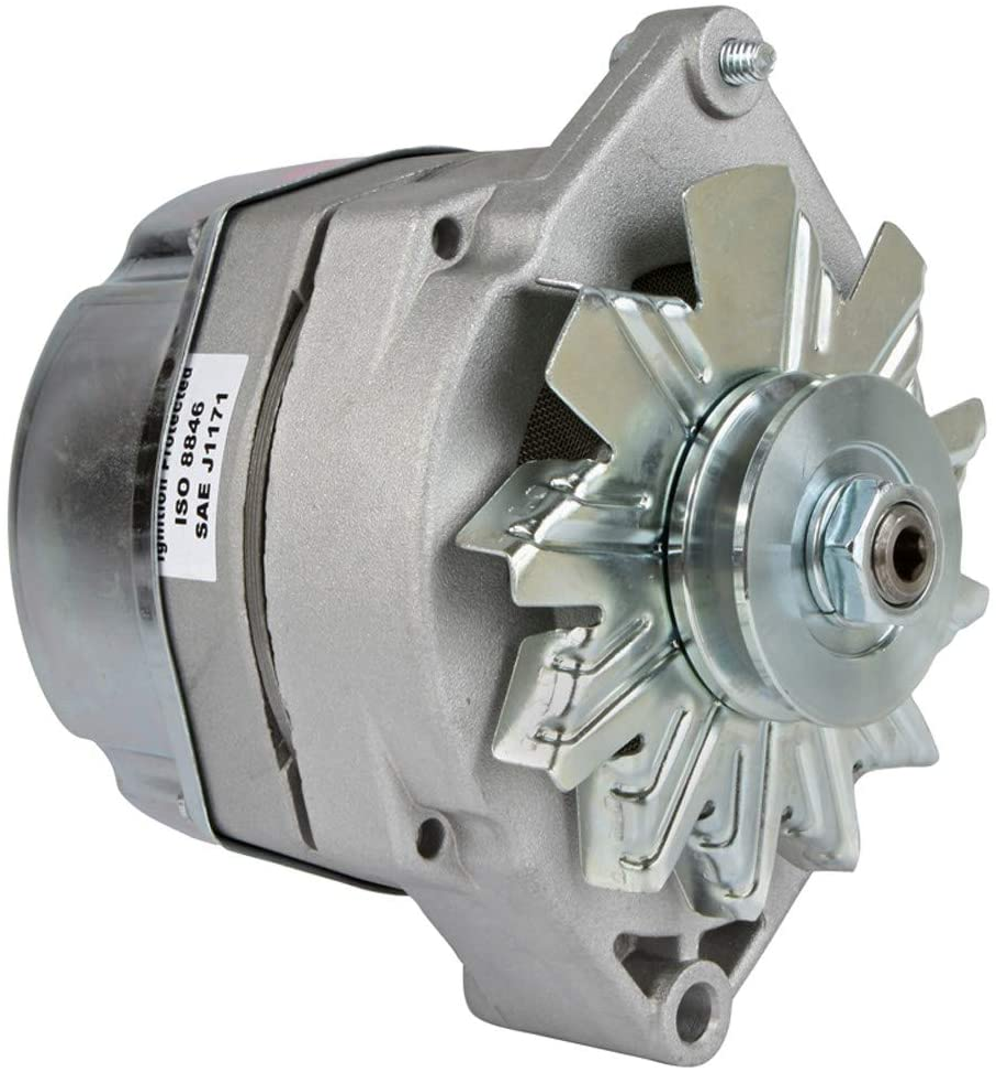DB Electrical HO-ADR0334-140AMP-10SI-Marine New Alternator for 140 Amp Delco Marine Mercruiser 1-Wire 20051 20102 1100576 1100577 1102393 1102496 1105478 56045 59755 69729 983424 983836 988247