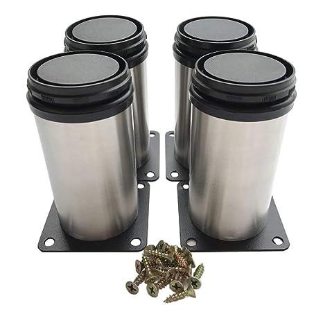 Amazon.com: VOVOV Muebles Armario Patas de Metal Ajustable ...