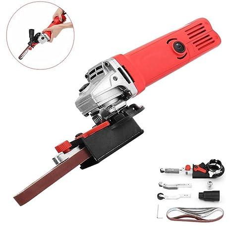Sander Machine Sanding Belt Adapter Head Convert 3inch Electric Angle Grinder Woodworking Grinding Power Tools Abrasive Tools
