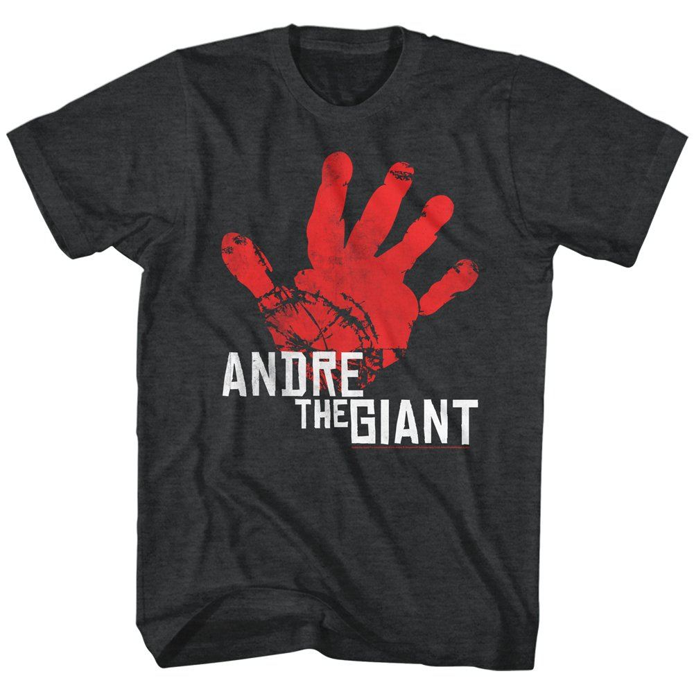 2Bhip Andre The Giant Hand Print Adult T-Shirt Tee 3X by 2Bhip