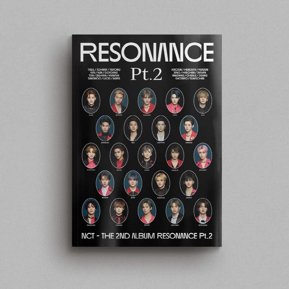 Resonance Pt.2 NCT [Arrival ver]- Album+Extra Photocards Set