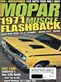 Mopar Muscle February 2001 Magazine 1971 FLASHBACK: EXPORT HEMI 'CUDA, A-, E-, B-BODIES, OPTIONS LISTS, RACING 390+ Horsepower 340 With Four Bolt-Ons