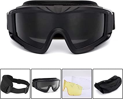 Outdoor Sports Safety Glasses Working Protective Airsoft Goggles Cycling Eyewear