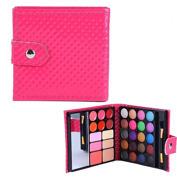 BrilliantDay 32 color paleta de sombra de ojos Blush Corrector Kit Belleza brillo de labios maquillaje Set