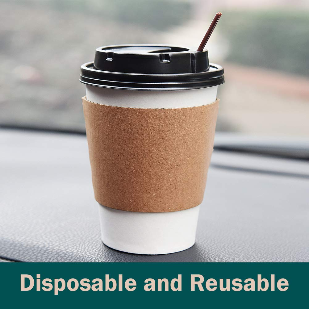Gotopack Coffee Cups 12OZ 120 Pack Disposable Coffee Cups by Gotopack (Image #3)