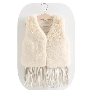 05a785320f2b Union Tesco Girls Imitation Fur Vest