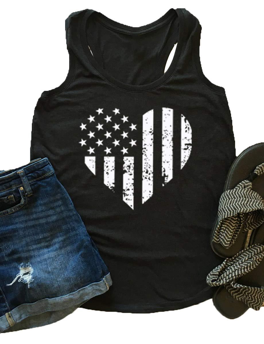 Enmeng-Memorial-Day-Tanks-Womens-Loves-Jesus-America-Too-Tank-Top-Shirt