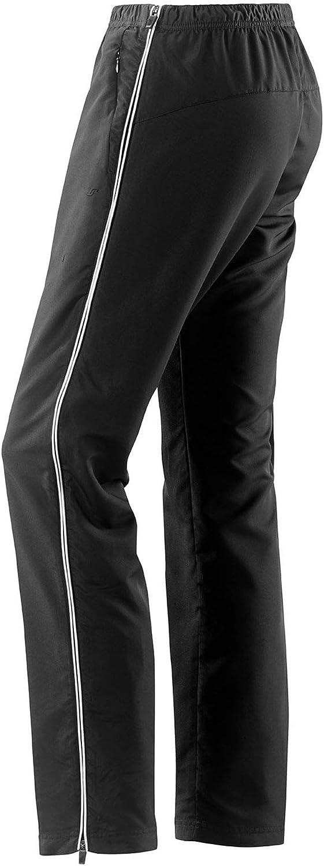 Damen Sport und Freizeit Hose mit seitlichem Rei/ßverschuss in schwarz Michaelax-Fashion-Trade Joy 942 Rehahose Merrit