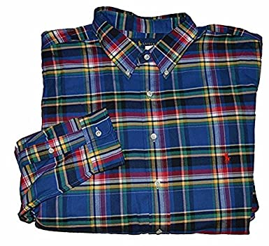 6d4e1b40d Image Unavailable. Image not available for. Color  Polo Ralph Lauren Men s  Big and Tall Plaid Shirt 3XLT