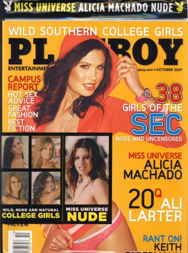 Playboy, October 2007 Issue