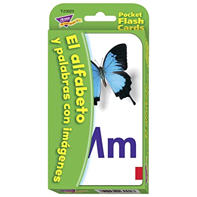 Spanish Alphabet & Picture Words Pocket Flash Cards: Industrial & Scientific