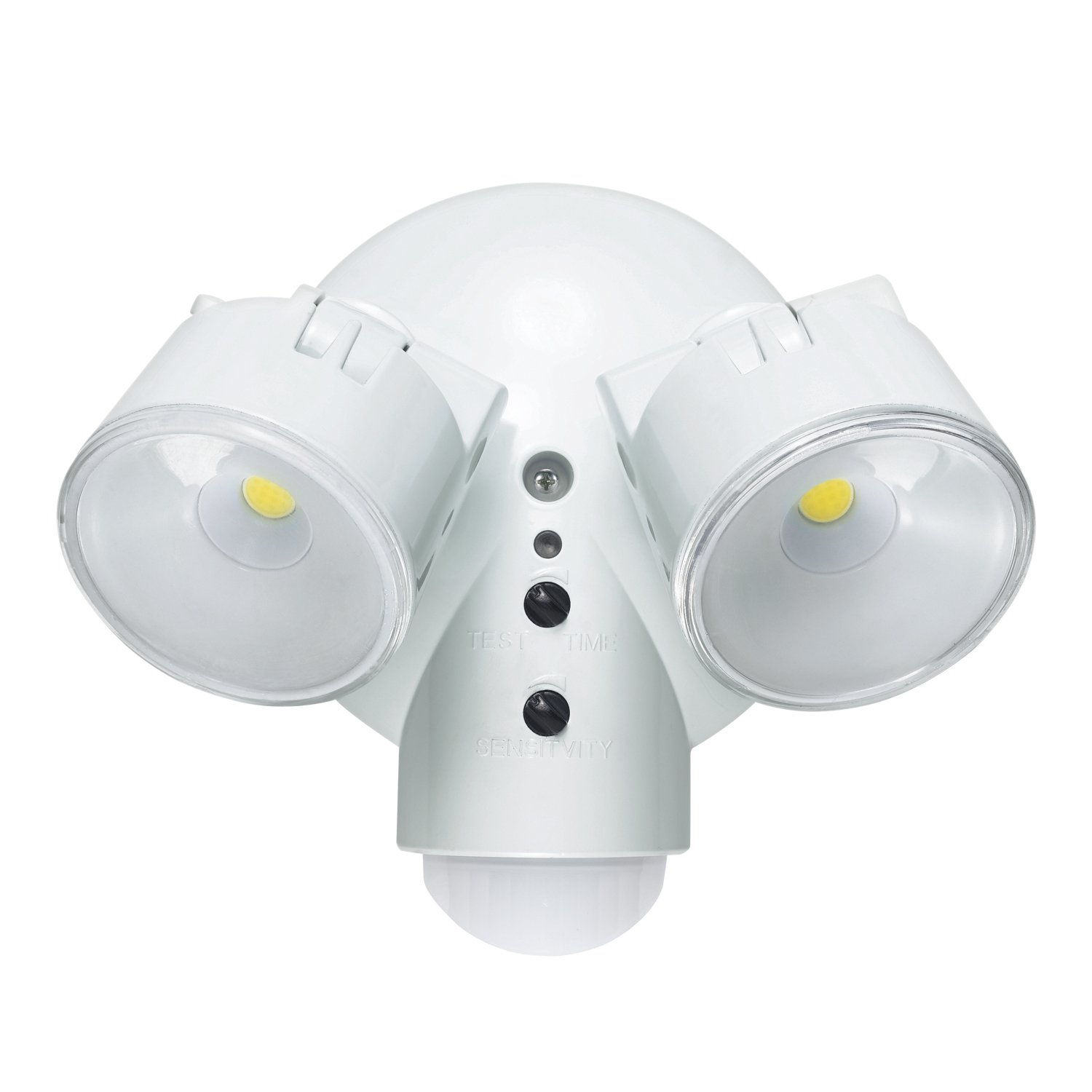 Globe Electric Weather Resistant Dusk to Dawn Adjustable Motion Activated Security Light, 180 Degree Detection Zone, 1800 Lumens, 29.4W LED Bulbs Included, 79585
