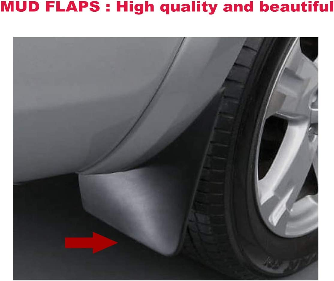 A-Premium Splash Guards Mud Flaps Mudflaps for Toyota RAV4 2006-2012 with/Factory/Fender/Flares 4-PC Set