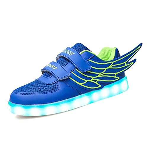 CIOR LED Light Up Shoes 11 Colors Flashing Rechargeable Sneakers For Kids  Boys Girls DX07,