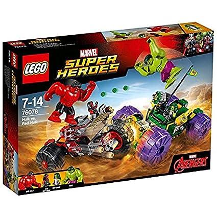 LEGO Super Heroes Hulk vs Hulk Rojo