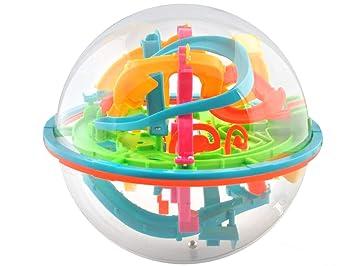 ISO TRADE Bola Laberinto - Laberinto 3D (138 obstrucciones) Juegos ...