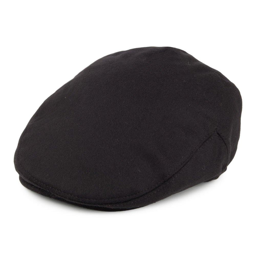 Jaxon /& James Pure Wool Harlem Flat Cap Black