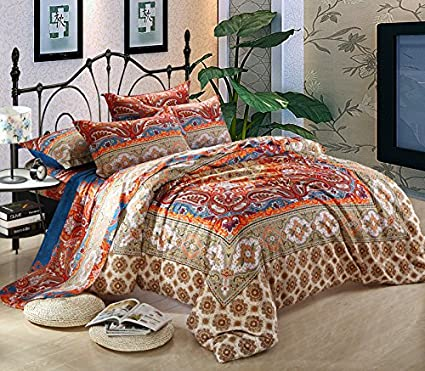pc green set pin new moroccan anthology blue comforter jolie queen full