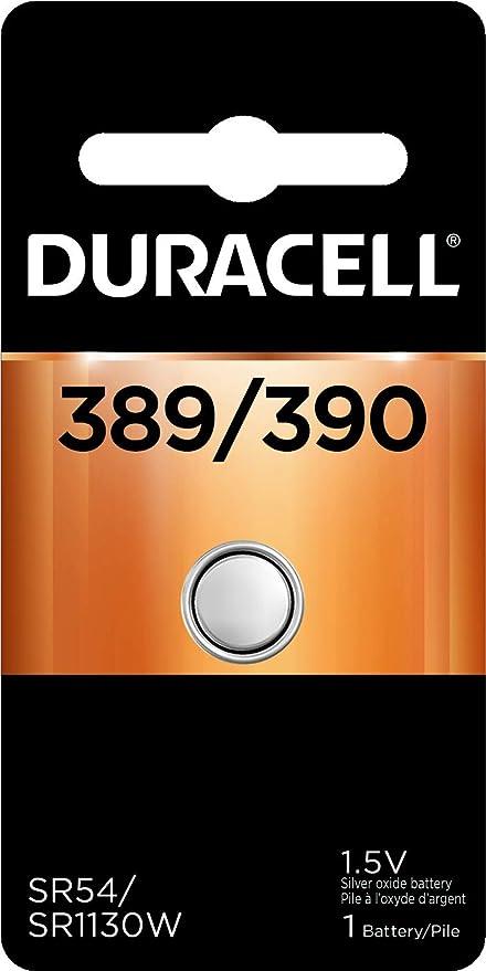 390 SR1130W Silver Oxide Battery Duracell 389