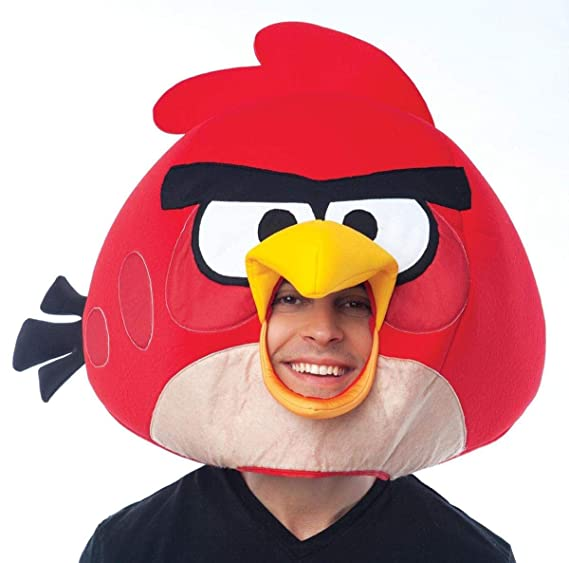 Amazon.com  Paper Magic Group Angry Birds Red Bird Mask  Clothing e9adf3fe06b0