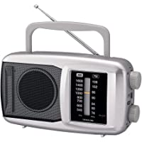 コイズミ ホームラジオ シルバー SAD-7222/S