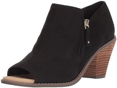 b569d45d97f Dr. Scholl s Women s Cece Ankle Boot Black Microfiber ...