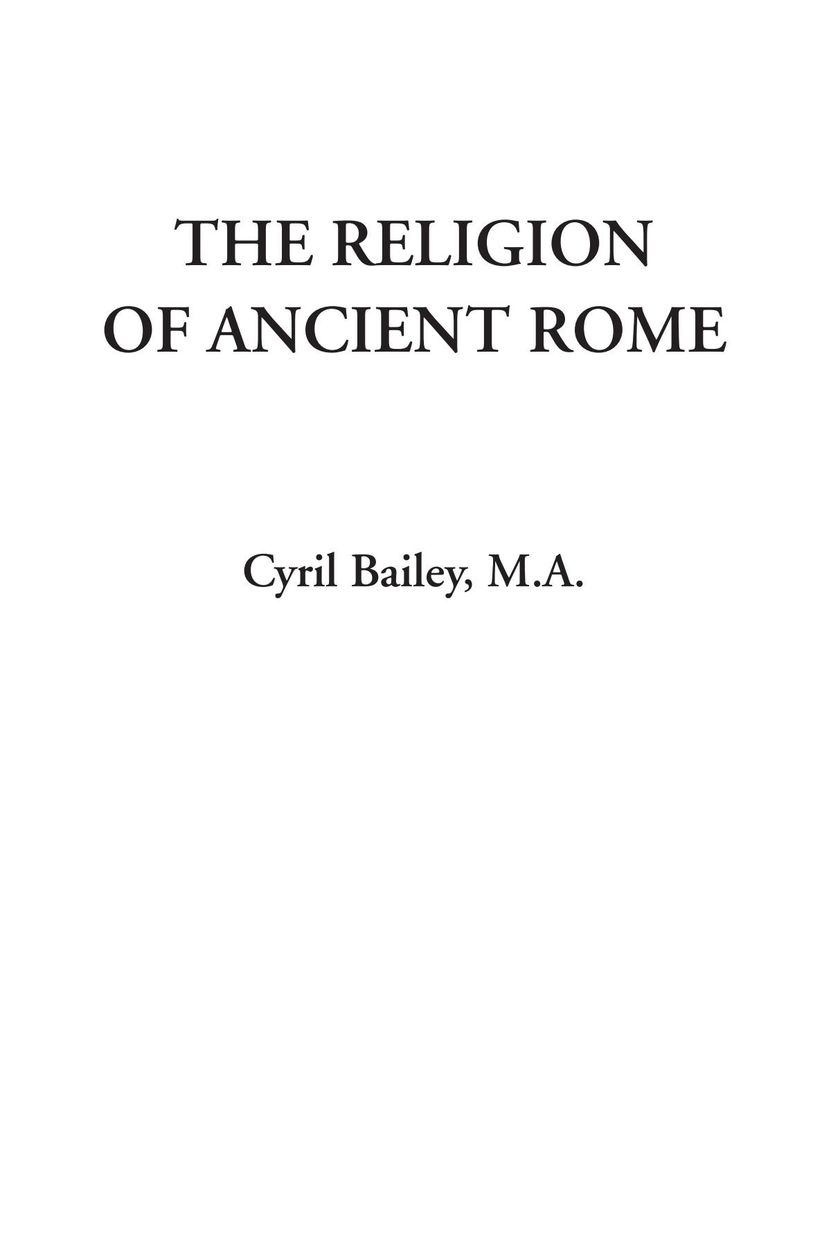The Religion of Ancient Rome pdf