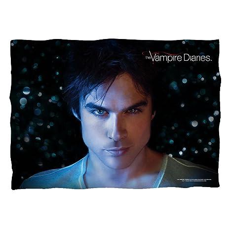 Amazon.com: Damon Close-Up – -El Vampire Diaries – -Funda de ...
