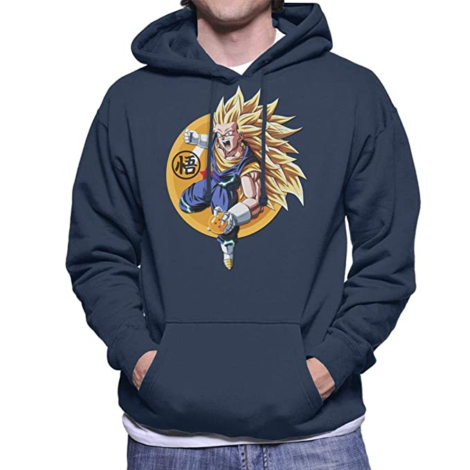Cloud City 7 Dragon Ball Z Goku Super Saiyan 3 Mens Hooded Sweatshirt: Amazon.es: Ropa y accesorios