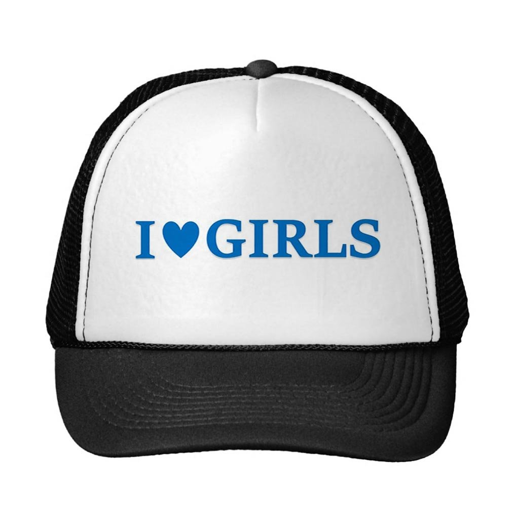 Smity 106 I Heart Girls Trucker Cap Trucker Hat