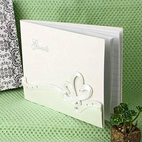 2 opinioni per Guestbook Matrimonio Libri degli ospiti CUORE Resina Partecipazione