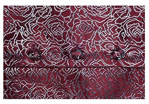 Traje Wine Hombre de Tops impresión 1908 2 Chaleco Chaleco Boda Ex de Branded Informal de Negocios para Formal Abrigo qwxFtAU0