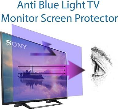 Protector de pantalla antiluz azul para TV de 65 pulgadas. Filtra ...