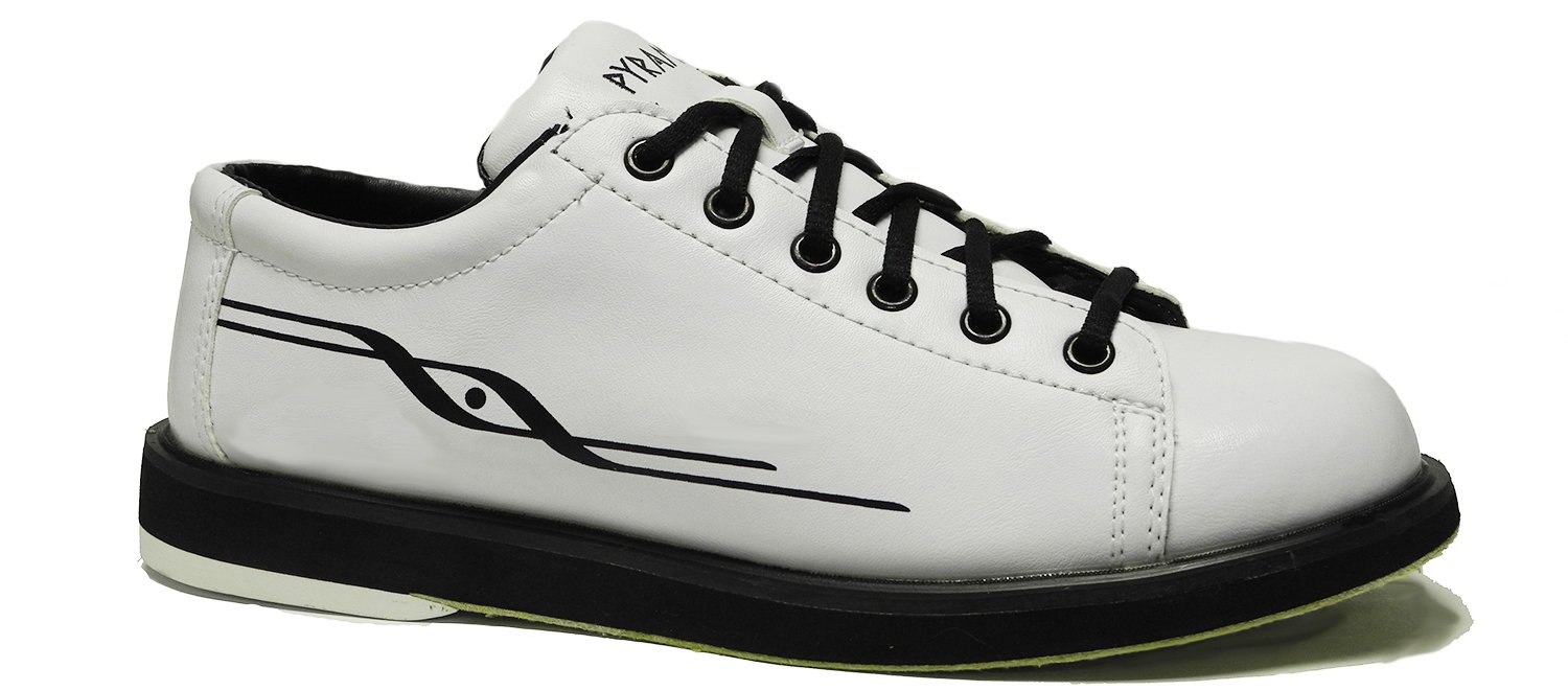 Pyramid Mens Ram White Bowling Shoes (10) by Pyramid