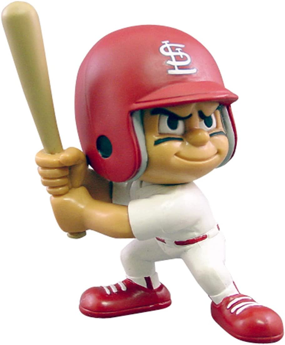 Party Animal Toys Lil' Teammates St. Louis Cardinals Batter MLB Figurines : Sports Fan Toy Figures : Sports & Outdoors