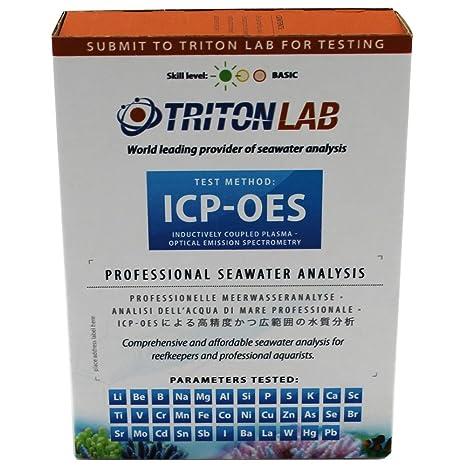 Triton Labs icp-oes Agua test- Full Kit de Elementos de 32 - Agua salada Reef Pruebas de panel: Amazon.es: Productos para mascotas