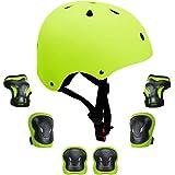 GLAF ヘルメット こども用 自転車 キッズ プロテクター セット ヘルメット3-8歳 頭囲48~54cm 子供用 保護具 超高耐衝撃性 耐久性 軽量 サイクリング スケートボード ローラースケート 幼児 小学生