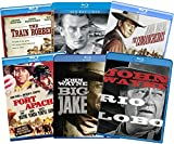 John Wayne Collection: Ultimate 6-Film - The Train Robbers/ The Big Trail/ The Comancheros/ Fort Apache/ Big Jake/ Rio Lobo